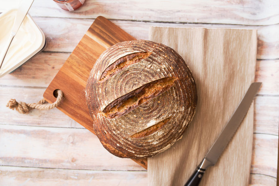 ben garratt 134774 unsplash closeup photo of baked bread on chopping board900